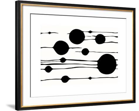 Untitled, c.2009 (white)-Carl Abbott-Framed Art Print
