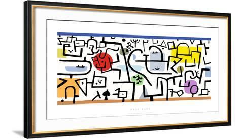Port Florissant, c.1938-Paul Klee-Framed Art Print