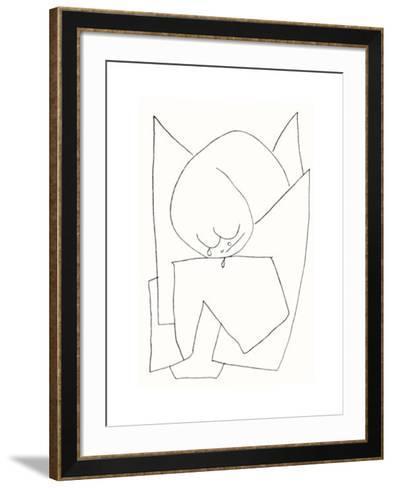 Es Weint, c.1939-Paul Klee-Framed Art Print