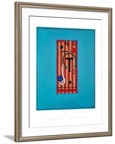 Ohne Titel,1998-J?rgen Wegner-Framed Art Print