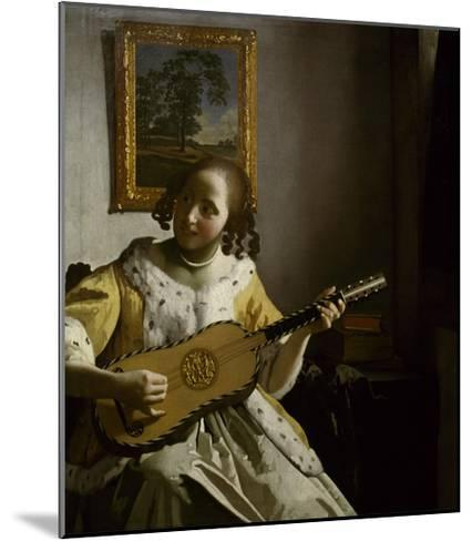 Guitar Player-Johannes Vermeer-Mounted Giclee Print