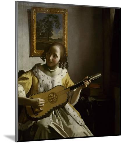 Guitar Player-Johannes Vermeer-Mounted Giclee Print