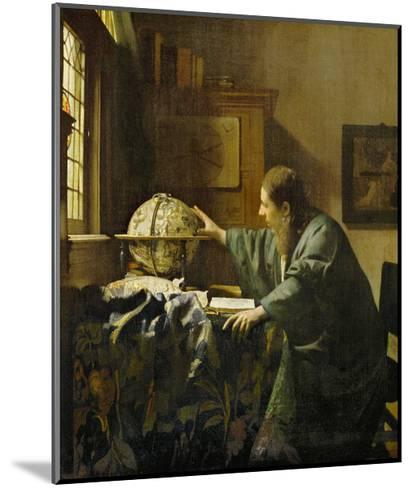 The Astronomer-Johannes Vermeer-Mounted Giclee Print
