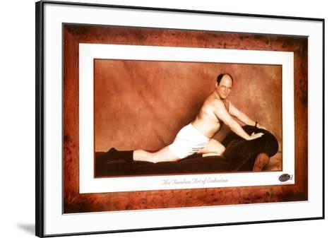 Seinfeld George The Timeless Art of Seduction TV Poster Print--Framed Art Print