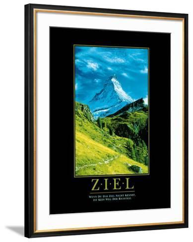 Ziel (Berg)--Framed Art Print