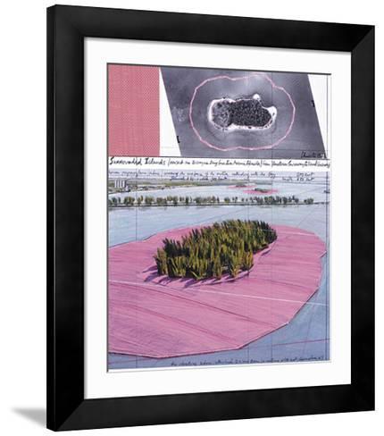 Surrounded Islands, Miami III-Christo-Framed Art Print