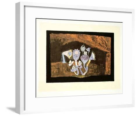 Höhlenblüten, c.1926-Paul Klee-Framed Art Print
