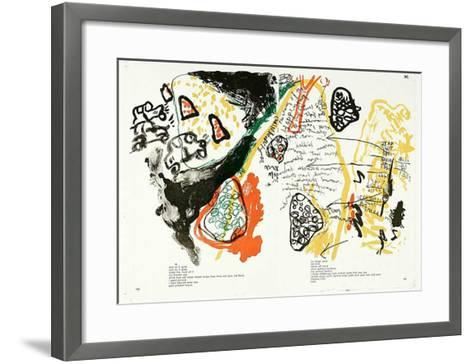 100-101 (One Cent Life)-Allan Kaprow-Framed Art Print