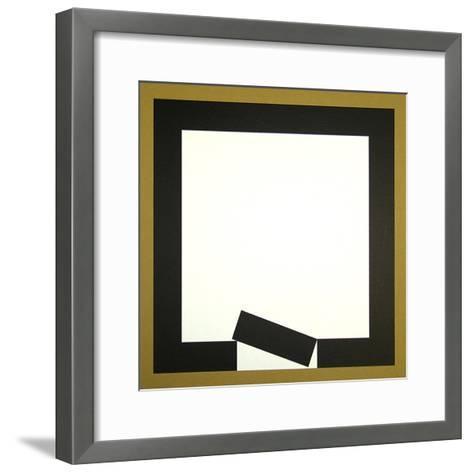 Ohne Titel 1-Erwin Heerich-Framed Art Print