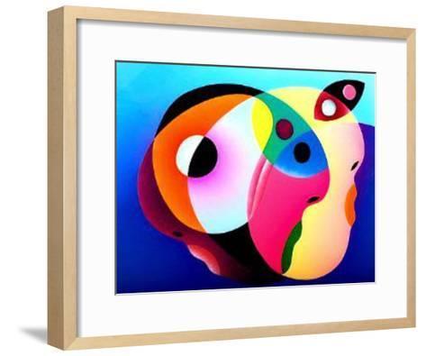 Three In One I-R^o^ Schabbach-Framed Art Print