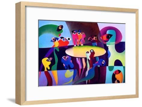 The Last Supper II-R^o^ Schabbach-Framed Art Print