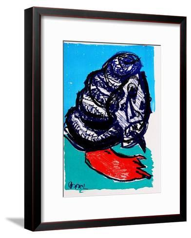 129 (One Cent Life)-Karel Appel-Framed Art Print