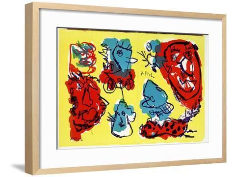74-63 (One Cent Life)-Karel Appel-Framed Art Print