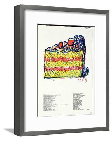 137 (One Cent Life)-Claes Oldenburg-Framed Art Print