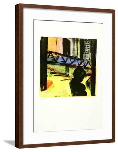 City, c.1998-Reinhard Stangl-Framed Art Print