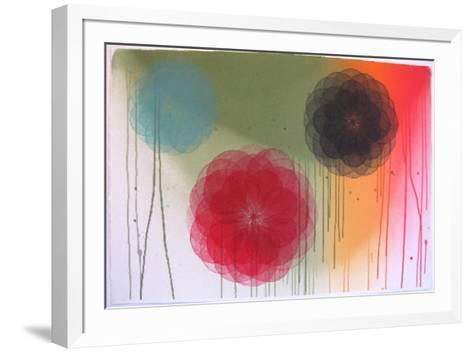 Floral I-Marianne Grönnow-Framed Art Print