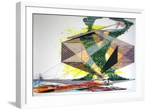 Struktur-Ferdinand Krag-Framed Art Print
