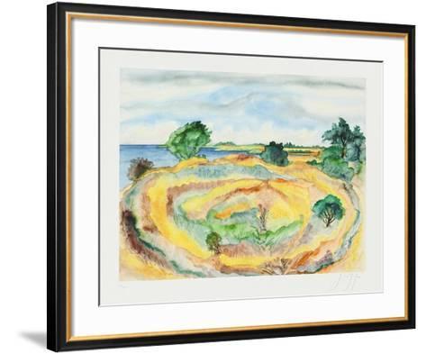 An der Küste-Guenter Grass-Framed Art Print