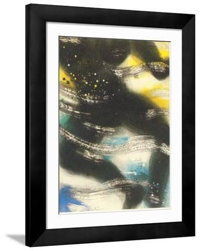 La gran banista-Nemesio Antunez-Framed Art Print