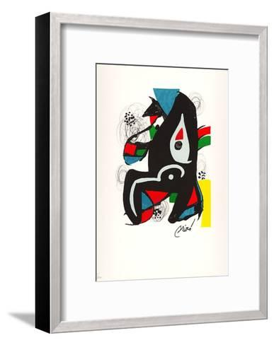 La Melodie Acide VI-Joan Mir?-Framed Art Print