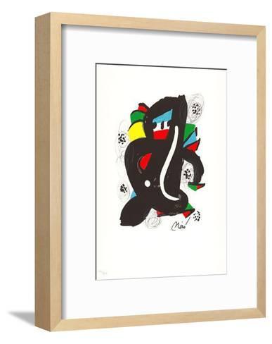 La Melodie Acide II-Joan Mir?-Framed Art Print