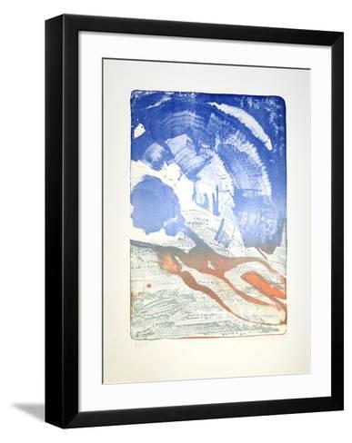 Ohne Titel-Reinhard Stangl-Framed Art Print
