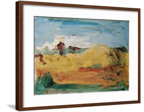 Stürmische See-Armin Mueller-Stahl-Framed Art Print