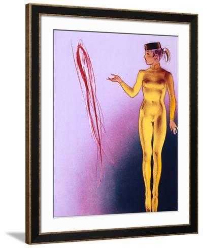 Intro-Allen Jones-Framed Art Print