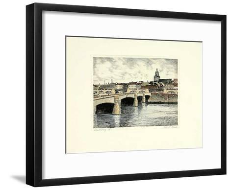 Landsberg/W., Gesamtansicht-Bruck-Framed Art Print