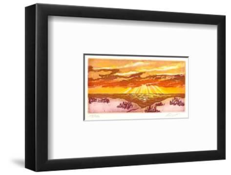 Sonnenaufgang, c.2001-Henryk Fiset-Framed Art Print