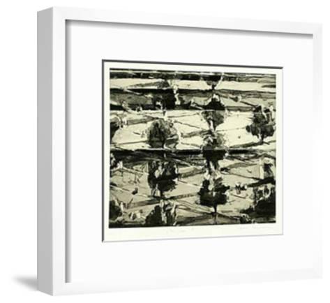 Treescape II-Heike Negenborn-Framed Art Print