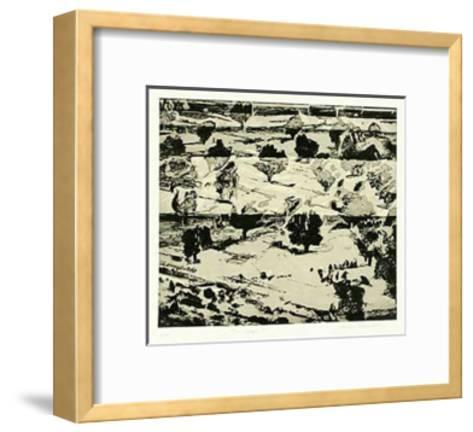 Treescape I-Heike Negenborn-Framed Art Print