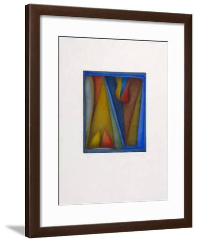 Attente-Anne Marmonier-Framed Art Print