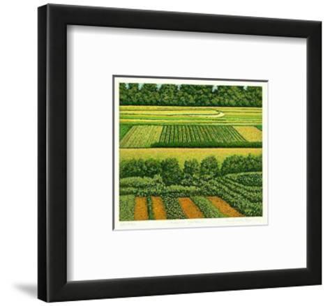 Kleiner Garten-Michael Rausch-Framed Art Print