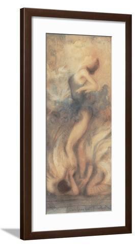 Angels at my feet I-Janet Treby-Framed Art Print