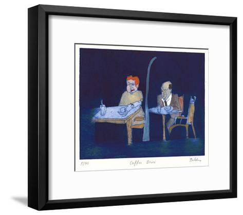 Coffee Blues-Bernd Baldus-Framed Art Print