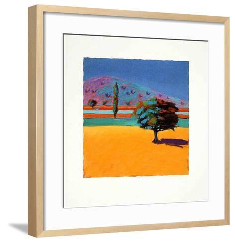 Field of Gold, c.2001-Paul Powis-Framed Art Print