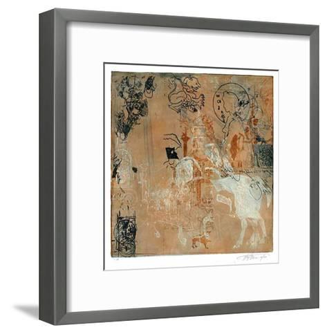 Campanile, c.2002-Hassan Hashemi-Framed Art Print