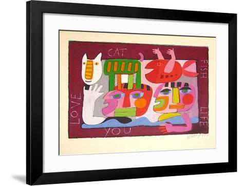 Ohne Titel III-Wouter Stips-Framed Art Print