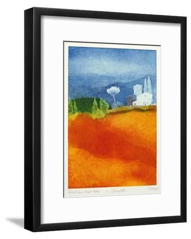 Gehöft-Günther Fries-Framed Art Print