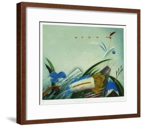 Das große Erwachen-Josef Werner-Framed Art Print