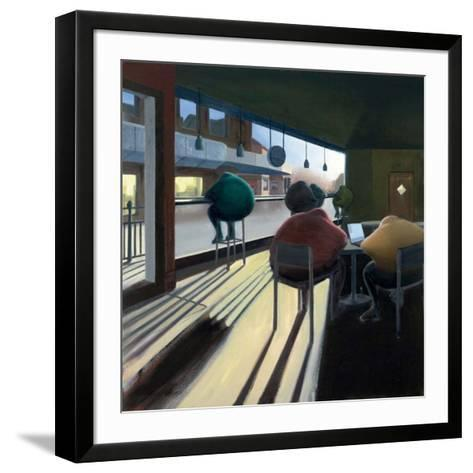 Coffee at 11- Nadeem-Framed Art Print