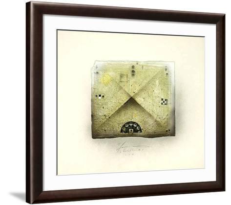 Instruktion V-Thomas Hamann-Framed Art Print