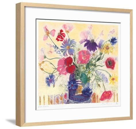 Wild Flowers-Jenny Deveraux-Framed Art Print