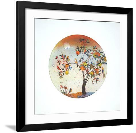 Morgenständchen II-Jutta Votteler-Framed Art Print