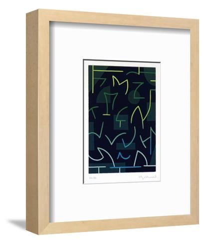zum Geburtstag-Ludwig Gebhard-Framed Art Print