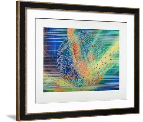 Sonnenlinien-Horst Gläsker-Framed Art Print