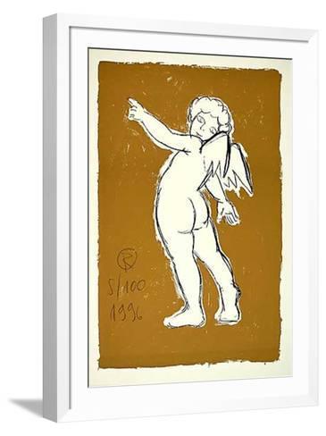 Engel Ocker, c.1996- Radomir-Framed Art Print