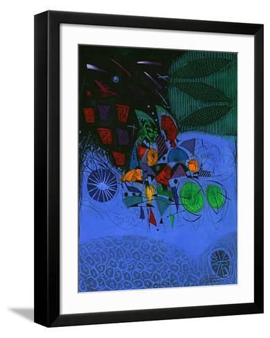 Magique Bleu-Georges Dussau-Framed Art Print