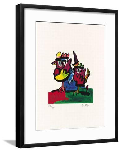 Hahn-Otmar Alt-Framed Art Print